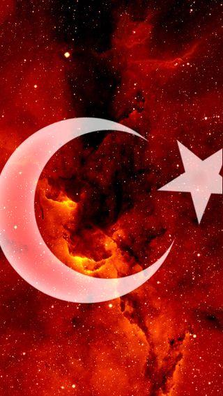 Обои на телефон турецкие, флаг, любовь, love