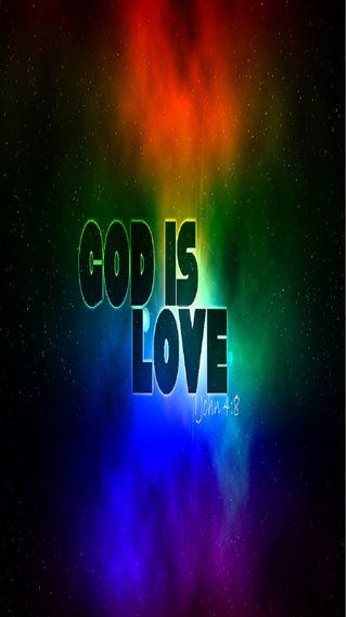 Обои на телефон религия, небеса, любовь, бог, love, god is love