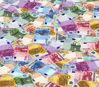 Обои на телефон цветные, счета, европа, евро, деньги, билл