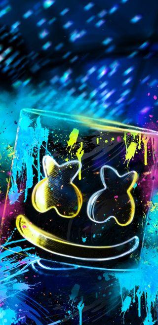 Обои на телефон элемент, маршмеллоу, цветные, темные, ремикс, мультфильмы, вселенная, lazuli, last