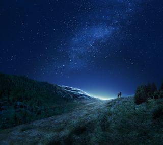 Обои на телефон официальные, самсунг, оригинальные, новый, небо, звезда, горы, галактика, samsung, plus, hd, galaxy s8 official, galaxy