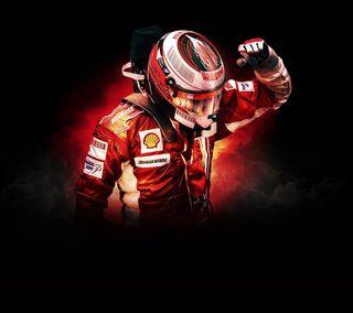 Обои на телефон формула 1, гонка, феррари, водитель, raikkonen, kimi, iceman, ferrari, f1