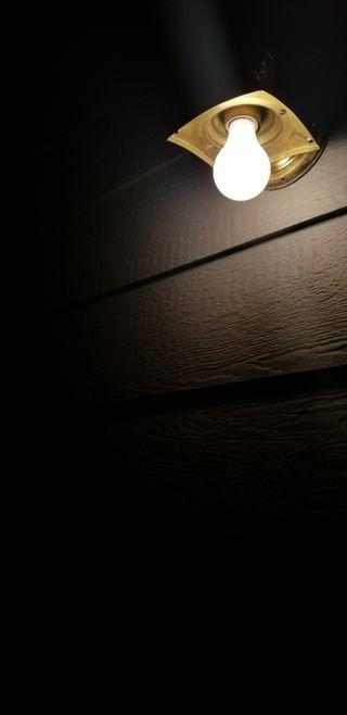 Обои на телефон одинокий, черные, темные, свет, ночь, минимализм, жуткие, lonely light