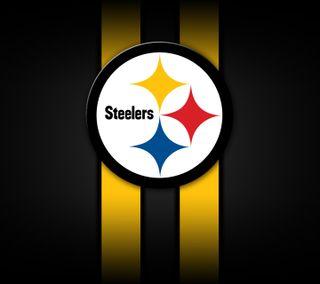 Обои на телефон футбол, питтсбург, логотипы, steelers, nfl