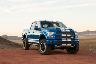 Обои на телефон шелби, грузовик, форд, сша, синие, белые, америка, usa, ford