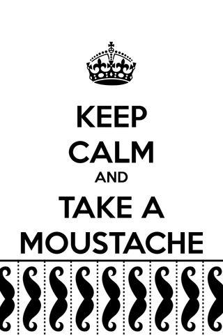 Обои на телефон цитата, спокойствие, корона, moustache, keep calm 4
