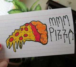 Обои на телефон пицца, вкусный