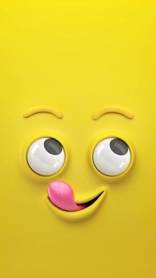 Обои на телефон язык, юмор, мультфильмы, лицо, забавные, желтые, глаза, yellow face, funny cartoon