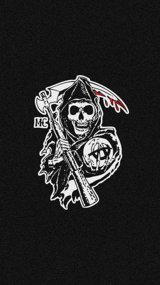 Обои на телефон банда, харли, сэм, сыны анархии, сыны, мотоциклы, жнец, дэвидсон, ворона, анархия, sam crow, jax