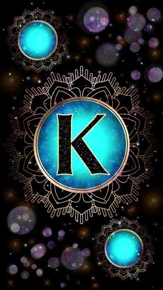 Обои на телефон сфера, мандала, светящиеся, магия, галактика, буквы, occult, magick mandala k, magick, letter k, initial k, galaxy