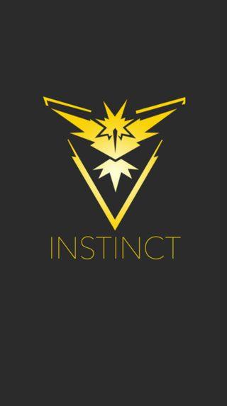 Обои на телефон инстинкт, покемоны, команда, игра, team instinct