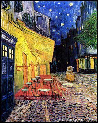 Обои на телефон фургон, тардис, кто, доктор, paintings, doctor who van gogh