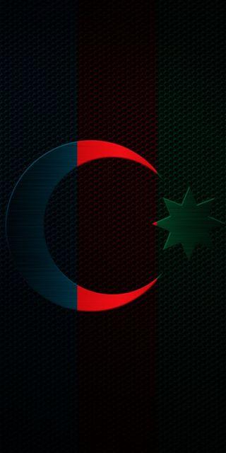 Обои на телефон смайлы, турецкие, месяц, звезда, азербайджан, azerbaycan, azerbaijan aypara