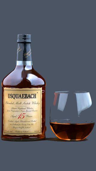 Обои на телефон виски, стекло, usquaebach, scotch whisky, highland malt, 15yo
