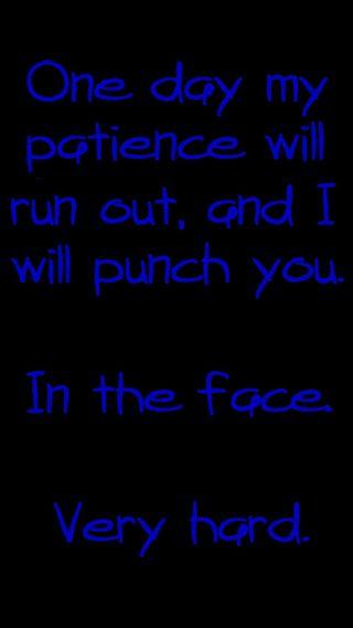 Обои на телефон ненависть, ты, панч, безумные, punch you, patience