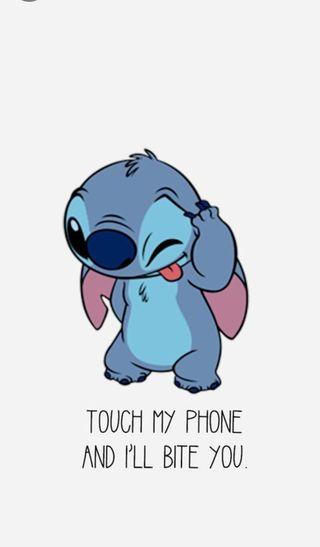 Обои на телефон трогать, не, телефон, стич, мультфильмы, мой, милые, лило, дисней, disney