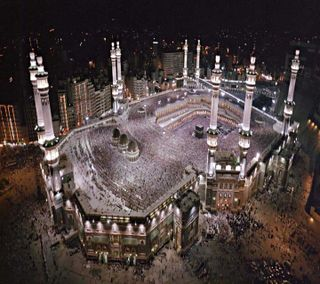 Обои на телефон мечеть, макка, hd