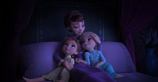 Обои на телефон эльза, королева, холодное, семья, дисней, queen iduna, disney, anna