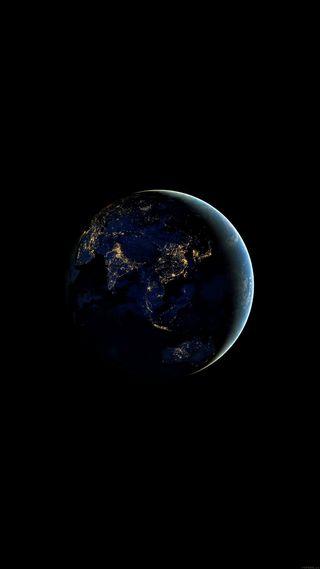 Обои на телефон солнечный, система, свет, планеты, планета, ночь, небо, космос, земля, азия