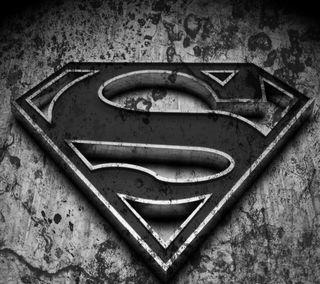 Обои на телефон герои, супермен, логотипы