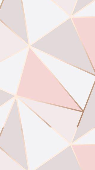 Обои на телефон геометрические, цвета, формы, фиолетовые, розовые, золотые, дизайн, белые, абстрактные