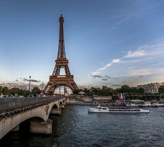 Обои на телефон эйфелева башня, франция, пейзаж, париж, башня