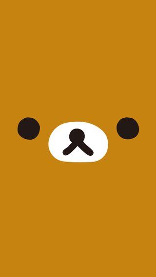 Обои на телефон медведь, rilakkuma