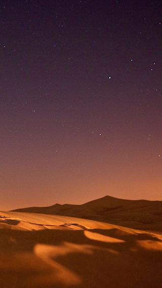 Обои на телефон пустыня, природа, ночь, небо, nature1127