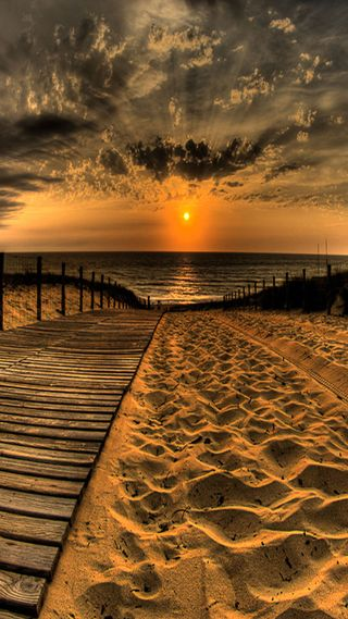 Обои на телефон песок, солнце, sun set