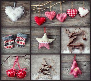 Обои на телефон коллаж, украшение, счастливое, рождество, зима, дерево, christmas collage
