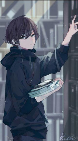 Обои на телефон одинокий, милые, мальчики, мальчик, грустные, аниме, cute anime boys, cute anime boy