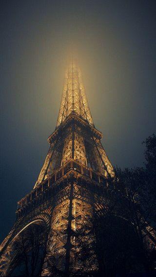 Обои на телефон эйфелева башня, башня