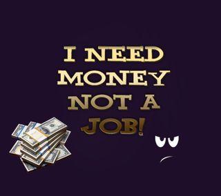 Обои на телефон эмоция, смайлики, комедия, приятные, крутые, злые, забавные, доллары, деньги, not a job