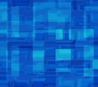 Обои на телефон квадраты, шаблон, текстуры, синие, абстрактные