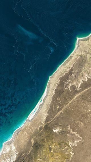 Обои на телефон карта, озеро, море, изображение, земля, satellite image