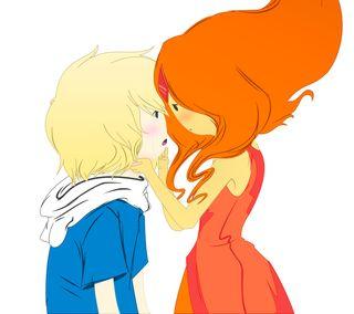 Обои на телефон финн, принцесса, приключение, пламя, мультфильмы, милые, время, finn and flame