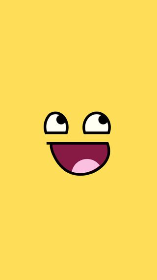 Обои на телефон мем, лицо, классные, желтые