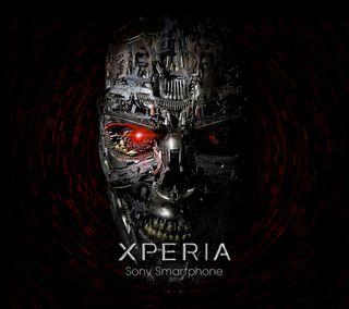 Обои на телефон череп, сони, логотипы, xperia, sony, caveira