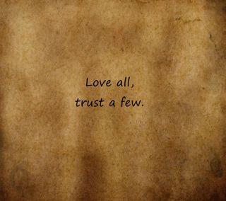 Обои на телефон доверять, поговорка, любовь, love