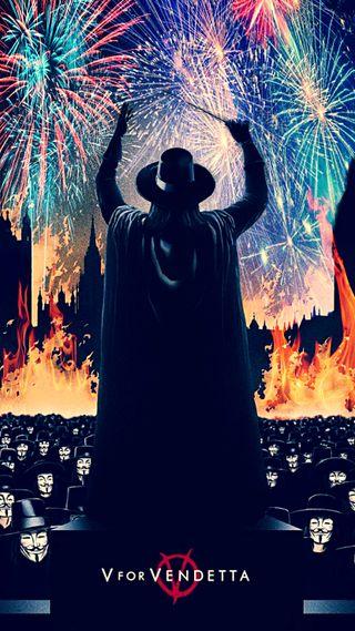 Обои на телефон эпичные, фильмы, фейерверк, фантазия, постер, огонь, вендетта, анонимус, vendetta fireworks, hd