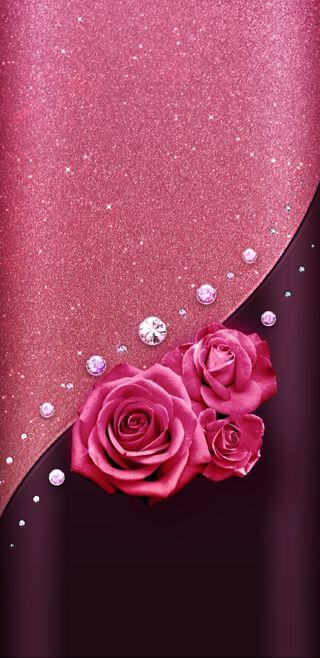 Обои на телефон сверкающие, роскошные, розы, розовые, прекрасные, винтаж, блестящие, vintagerosengems, luxury, jewels, gems, gem