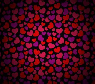 Обои на телефон узоры, сердце, праздник, красые, день