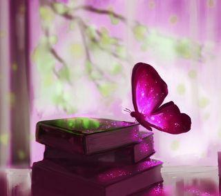 Обои на телефон растения, цветные, фиолетовые, новый, крутые, красочные, книги, животные, бабочки