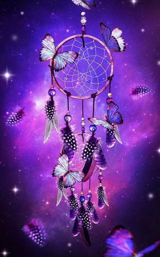 Обои на телефон мечты, ловец снов, бабочки, butterfly dreams