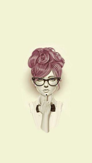 Обои на телефон рука, лицо, девушки, волосы, need, eyeglasses