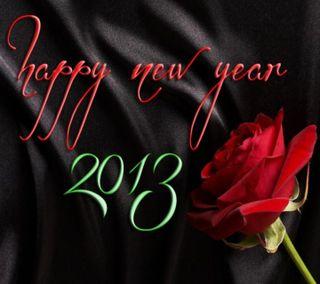 Обои на телефон год, счастливые, розы, прекрасные, новый, милые, крутые, happy new year 2013, 2013