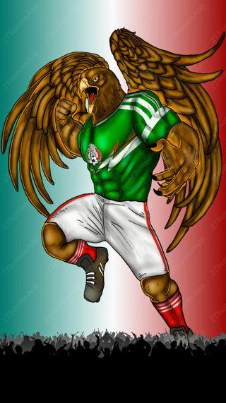 Обои на телефон мексика, liga mexicana, aguila