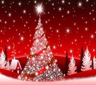Обои на телефон счастливое, рождество, пожелания, векторные