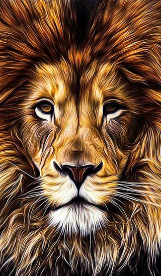 Обои на телефон учиться, работа, портрет, перо, лев, король, картина, животные, желтые, дым, галатасарай, oil painting work, oil painting, king of forests, HI, GALATASARAY, 1lion