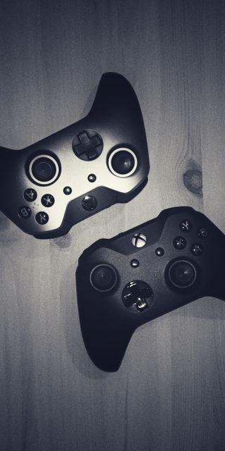 Обои на телефон майкрософт, игровые, игры, джойстик, xbox controllers mv1, xbox, playstation, pad